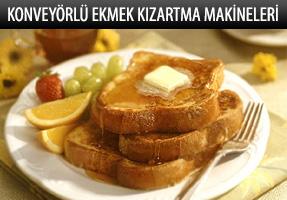 GMG Konveyörlü Ekmek Kızartma Makineleri